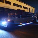 Išskirtinio hummer H2 šešiu ratų limuzino nuoma Lietuvoje.